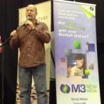 Michael D Butler speaking at Florida Writer's Association