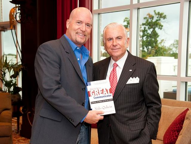 Michael D Butler best selling author dr nido qubein
